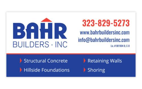 BAHR Builders