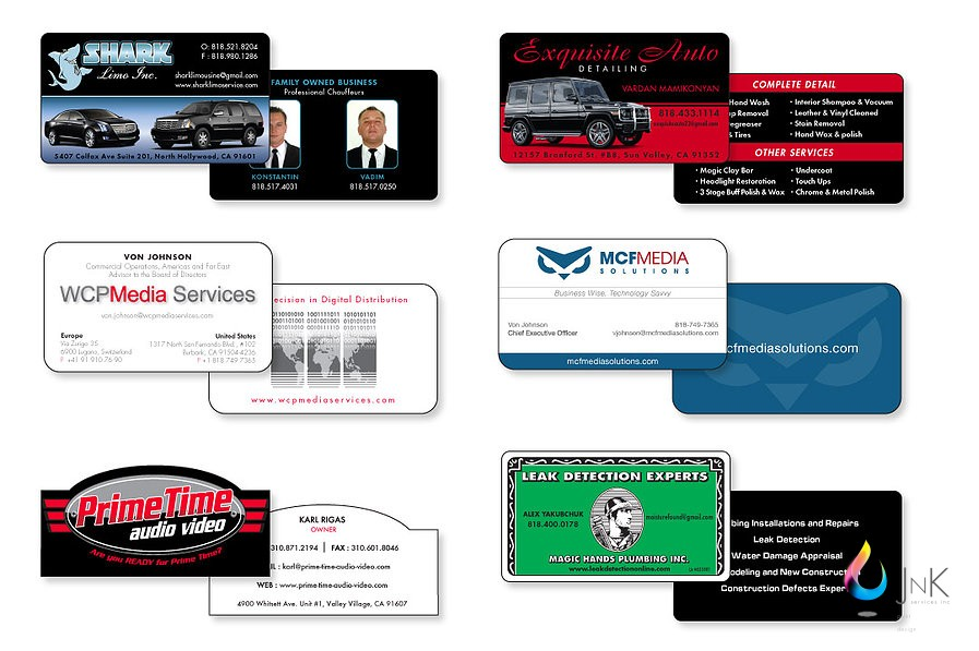 business cards San Fernando Valley, CA