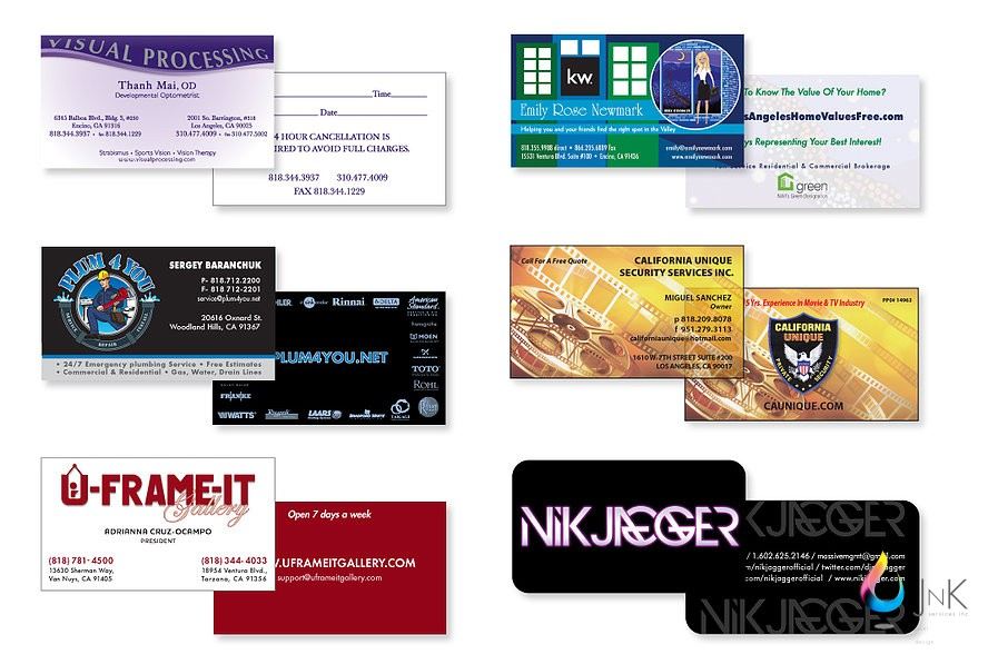 J n k services inc j n k services inc postcards and business j n k services inc postcards and business cards printing service in san fernando valley reheart Image collections