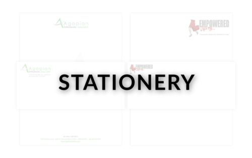 STATIONERY - NEW