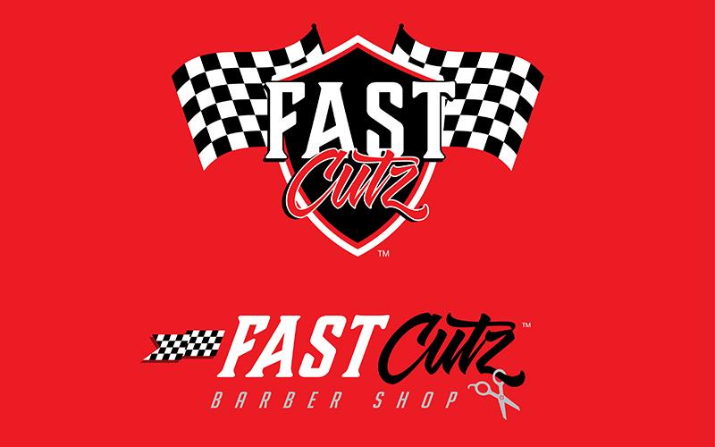 Fast Cutz Barbershop Logo