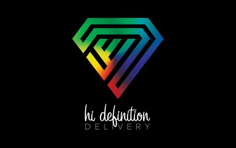 Hi Definition Delivery Logo