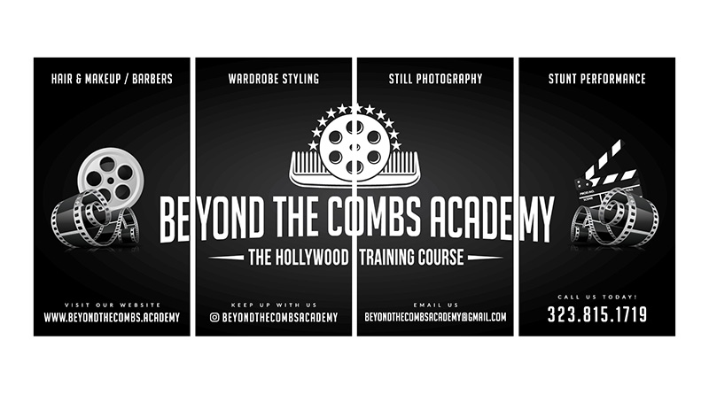 Beyond the Combs Academy | Window Signs