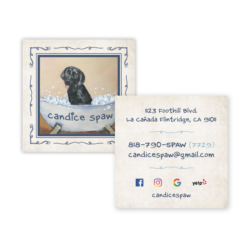 Candice Spaw | Business Card