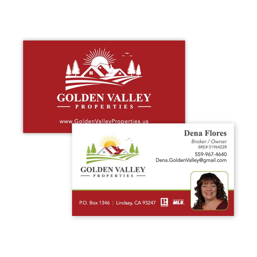 Golden Valley Properties | Business Card