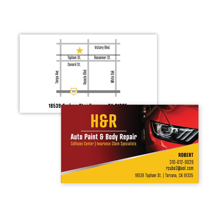 H&R Auto | Business Card