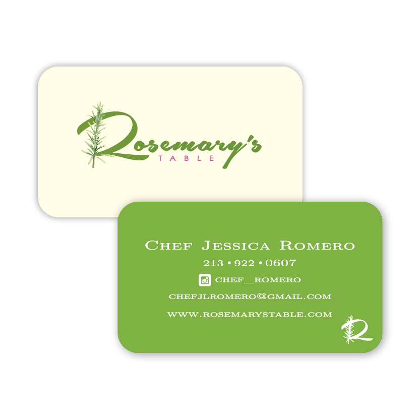 Rosemary's Table | Business Card