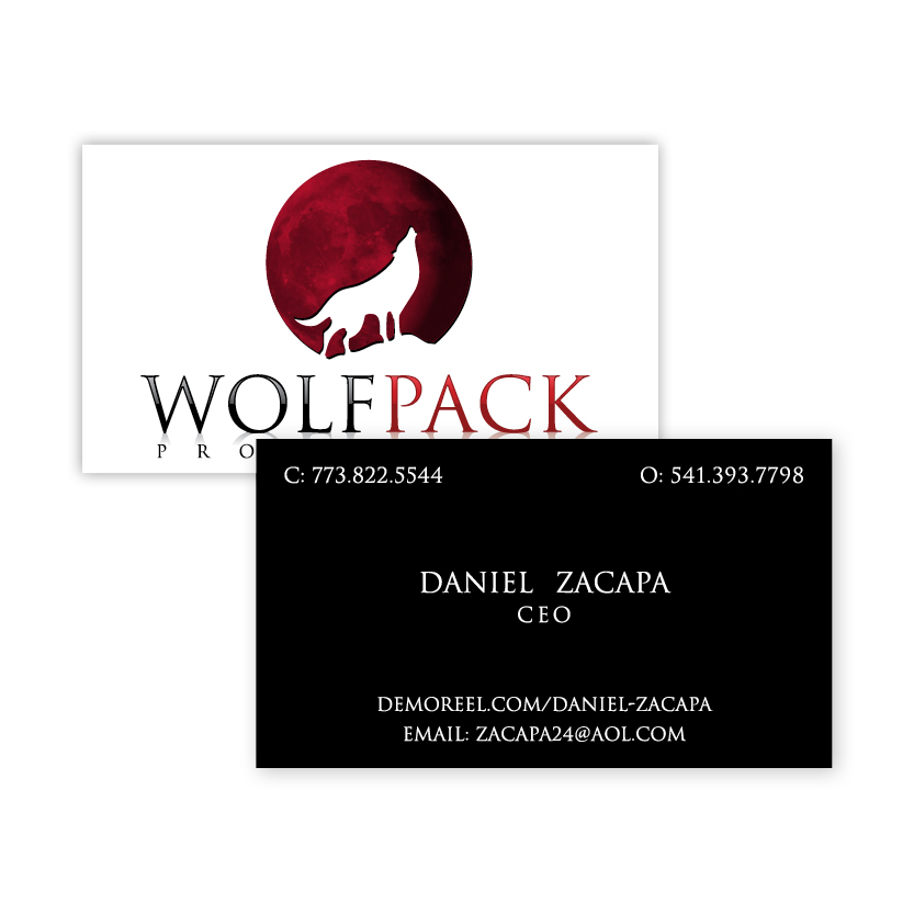 Wolf Pack | Business Card