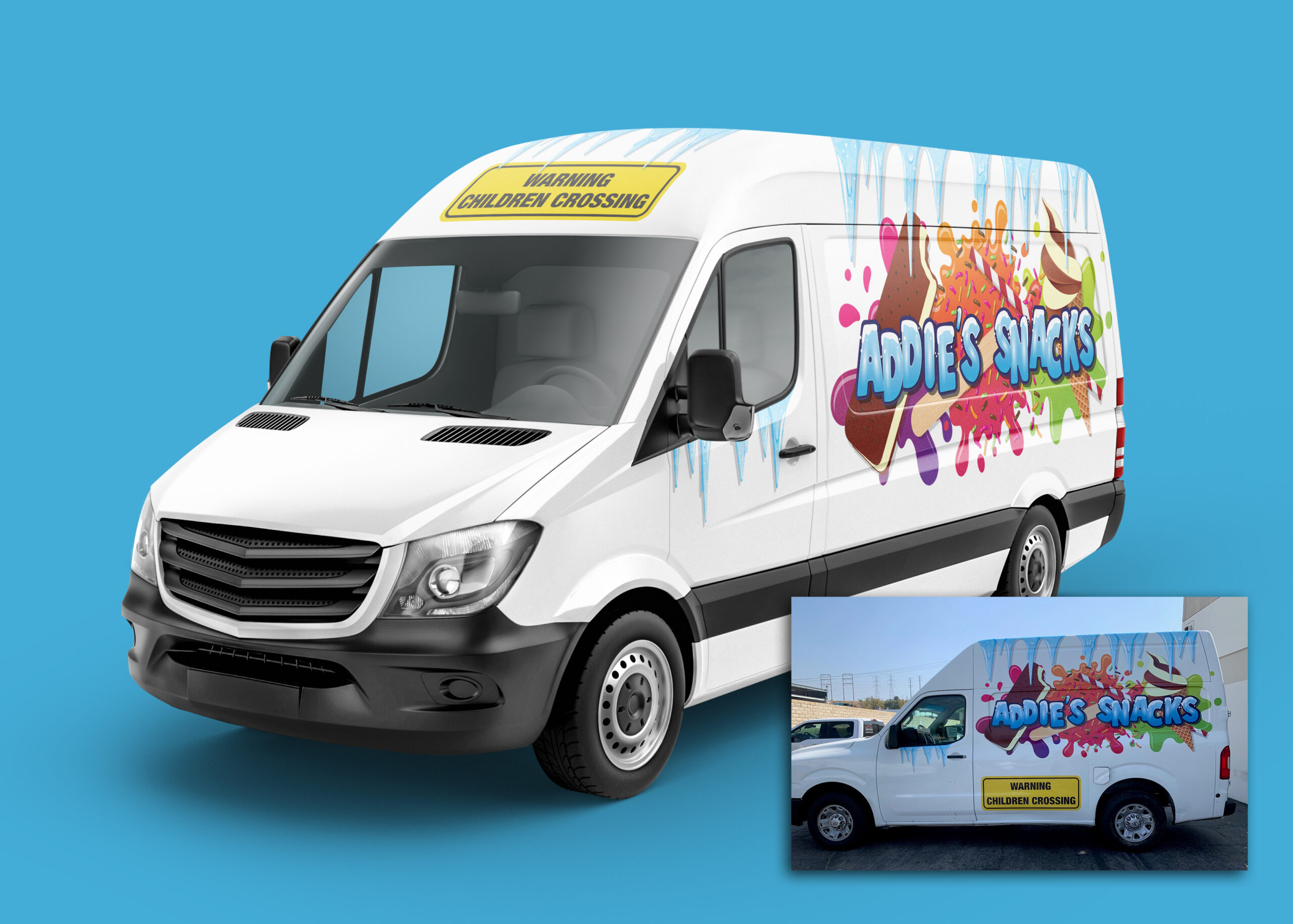 Addie's Snacks | Van Wrap