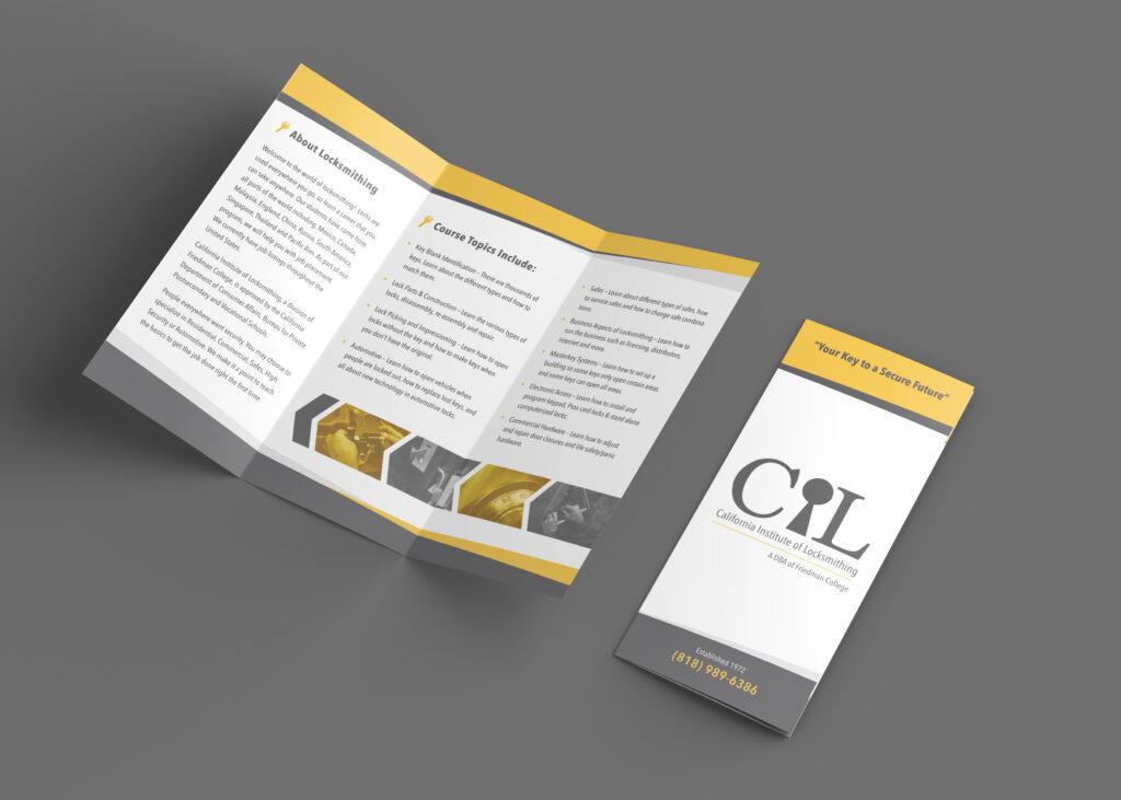 California Institute of Locksmithing | Brochure