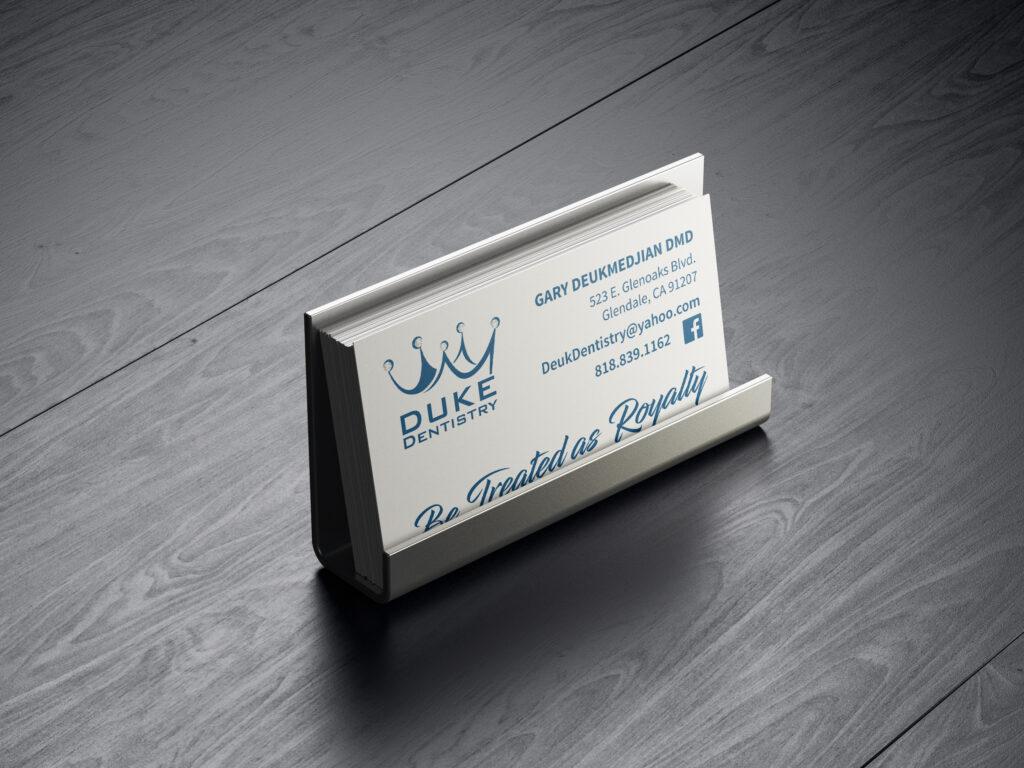 Duke Dentistry | Business Card