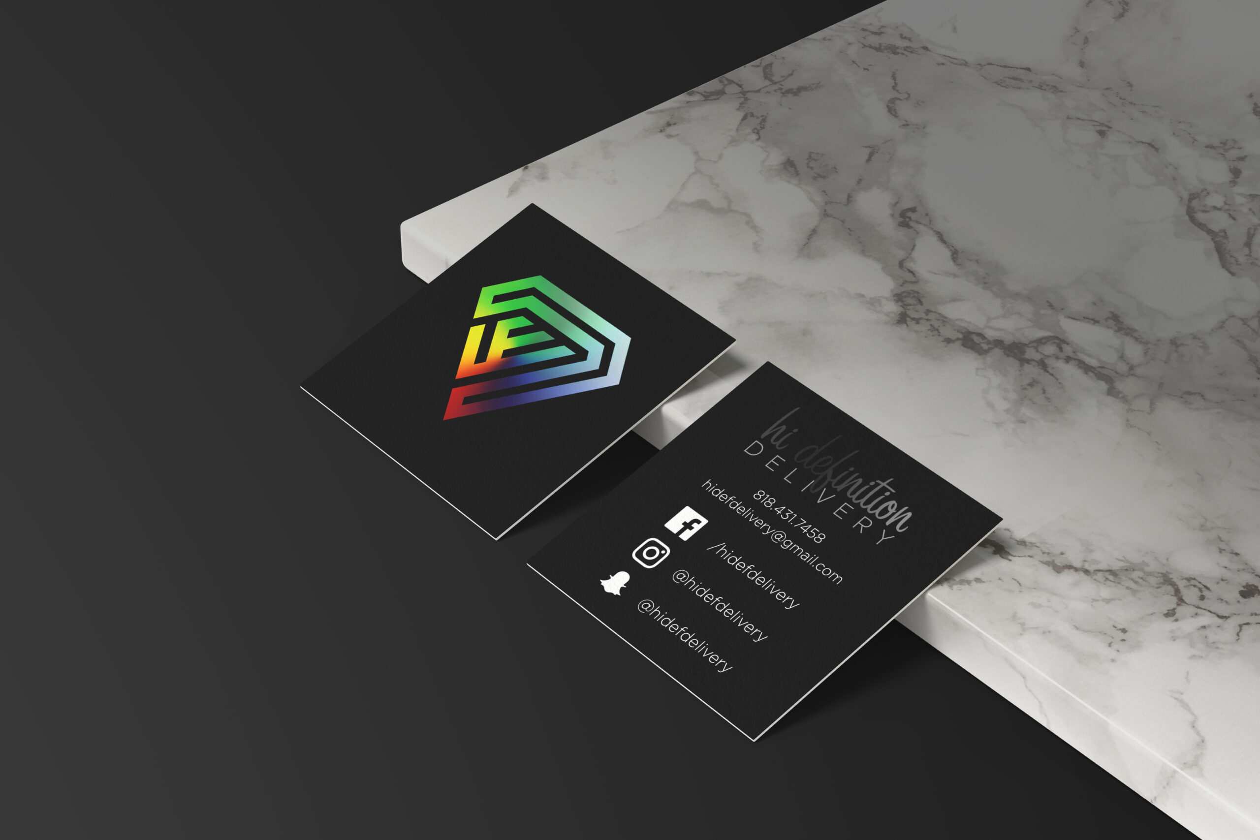 hi definition delivery | Business Card
