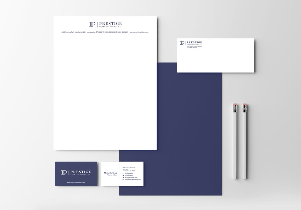 Prestige Legal | Stationery