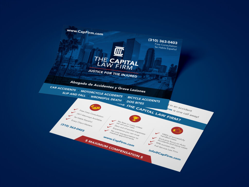 The Capital Law Firm | Postcard
