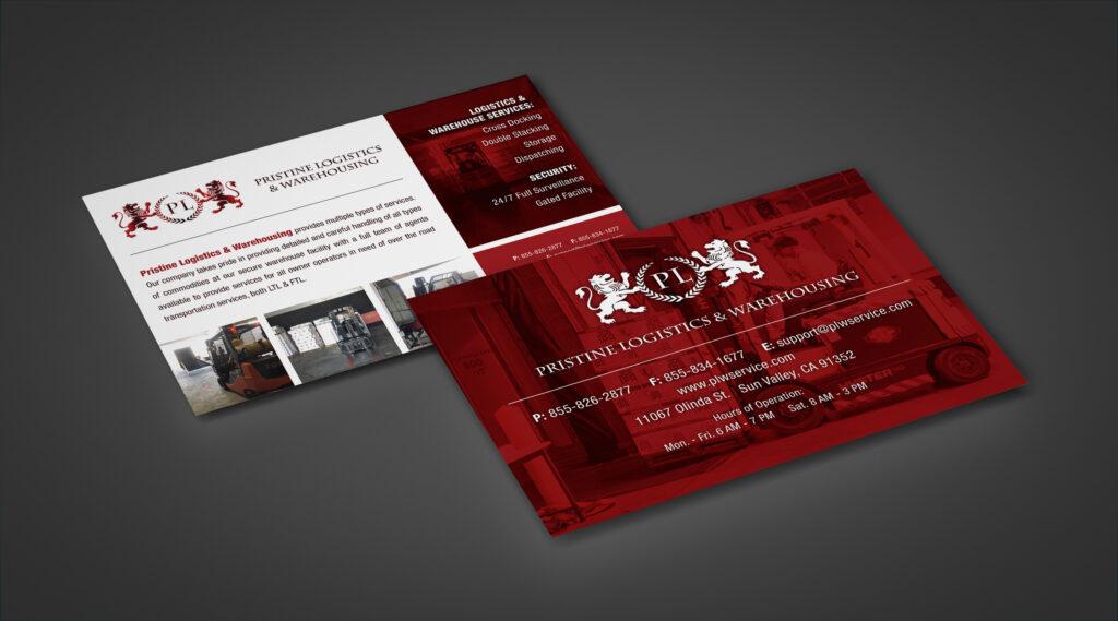 Pristine Logistics | Postcard
