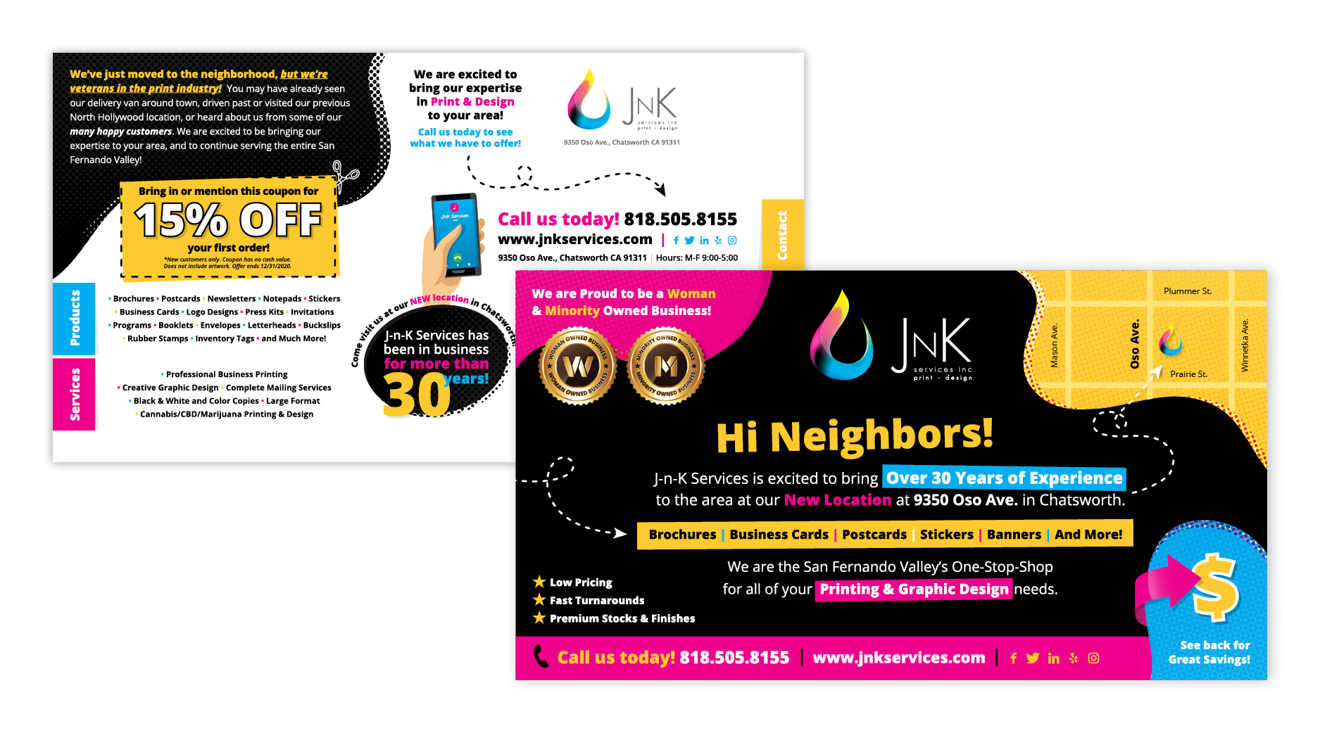 JnK Services | Postcard