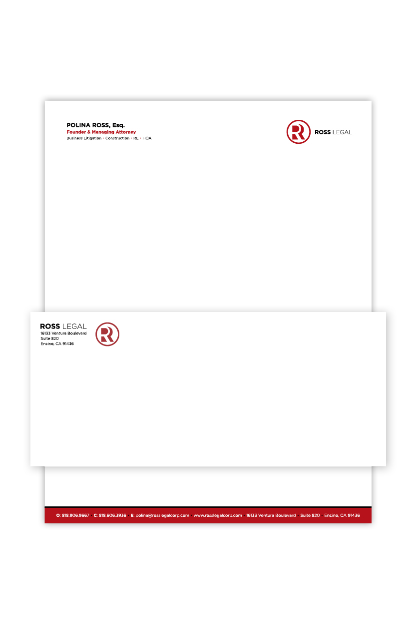 Ross Legal | Stationery
