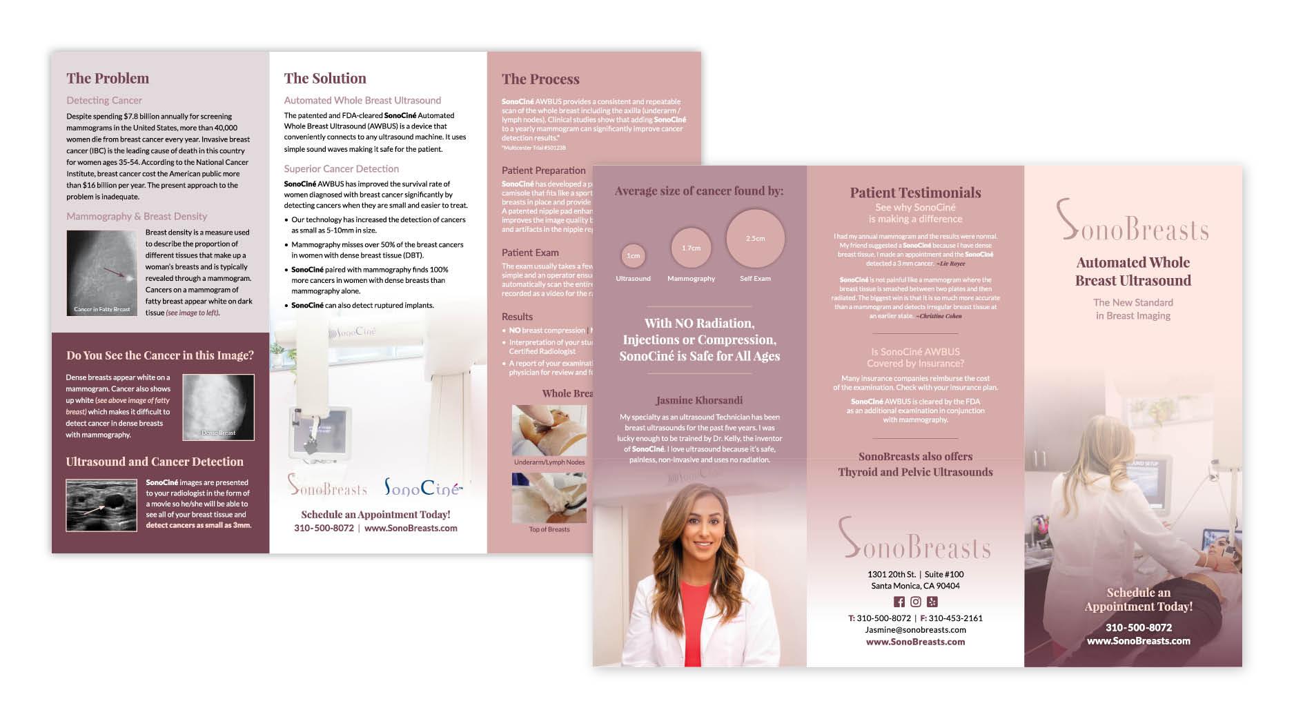 SonoBreasts Brochure