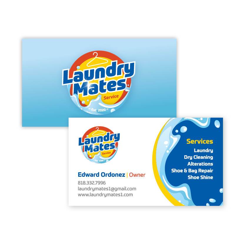 Laundry Mates Business Card