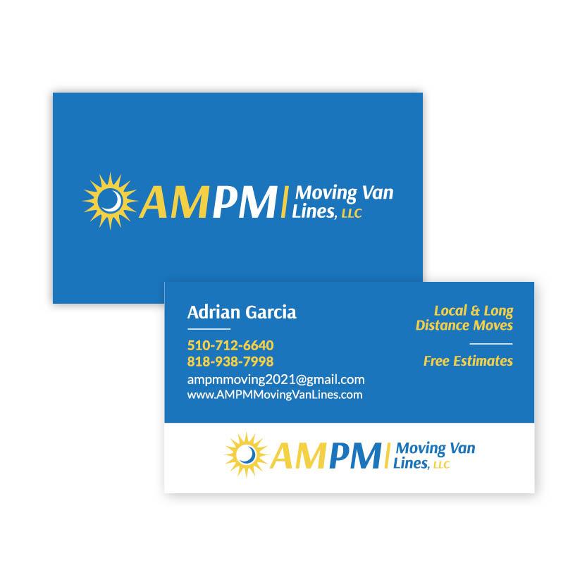AMPM Moving Van Lines | Business Card