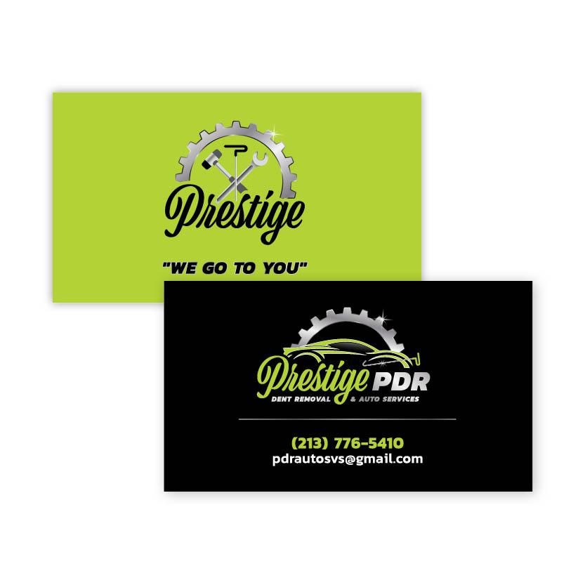 Prestige Dent Removal | Business Card