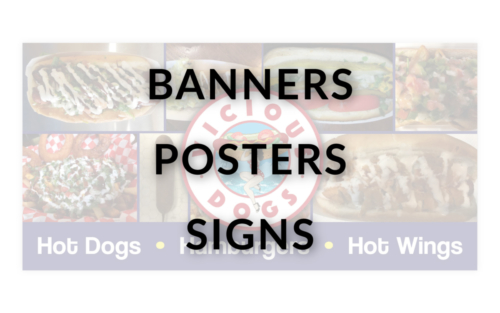 BANNERS / POSTERS / SIGNS - NEW