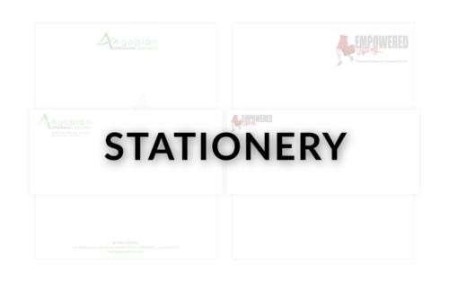 STATIONERY - NEW